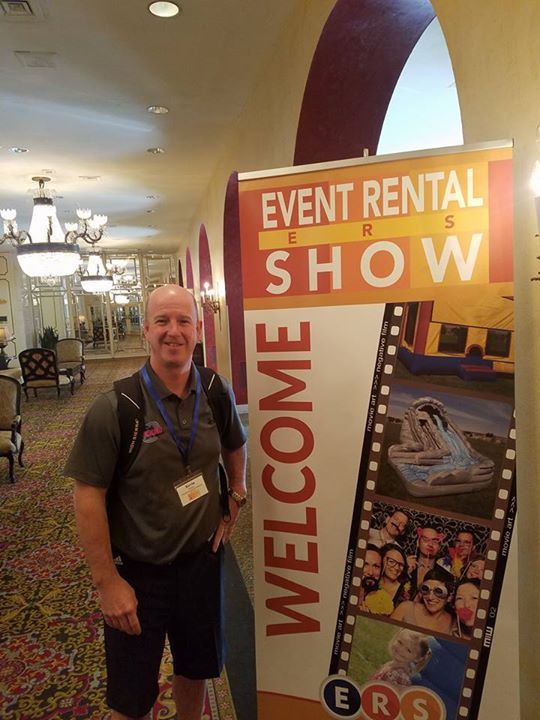 OIOA president Kevin Wieging attended the event rental show in New Orleans and p…