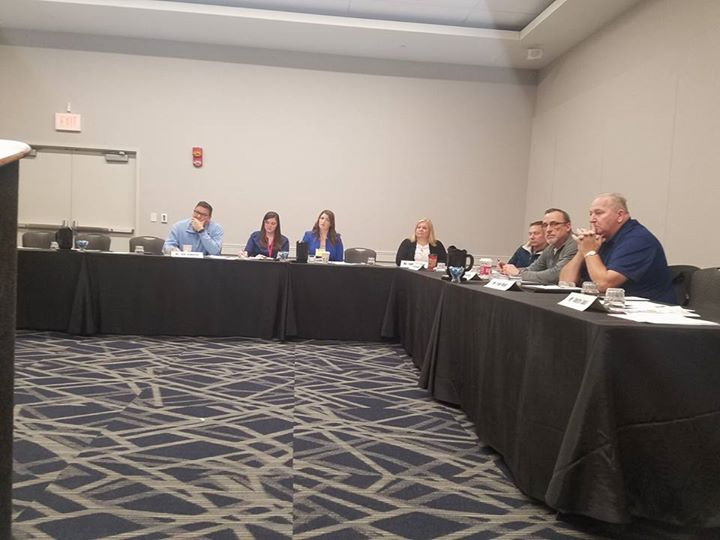ODA Ride Safety Advisory Board met during the Ohio Fair Managers association sho…